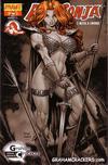 Cover Thumbnail for Red Sonja (2005 series) #25 [Art Adams Graham Crackers Variant]