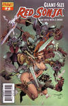 Cover Thumbnail for Giant-Size Red Sonja (2007 series) #2 [Stephen Segovia Cover]