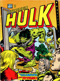 Cover Thumbnail for L'Incredibile Hulk (Editoriale Corno, 1980 series) #22