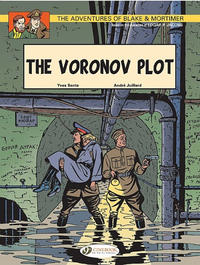 Cover Thumbnail for The Adventures of Blake & Mortimer (Cinebook, 2007 series) #8 - The Voronov Plot