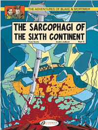 Cover Thumbnail for The Adventures of Blake & Mortimer (Cinebook, 2007 series) #10 - The Sarcophagi of the Sixth Continent Part 2