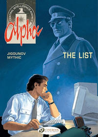 Cover Thumbnail for Alpha (Cinebook, 2008 series) #3 - The List