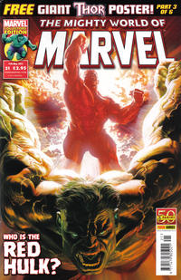 Cover Thumbnail for The Mighty World of Marvel (Panini UK, 2009 series) #21