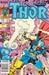 Cover Thumbnail for Thor (Marvel, 1966 series) #339 [Newsstand]
