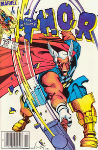 Cover Thumbnail for Thor (Marvel, 1966 series) #337 [Newsstand]