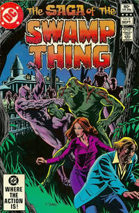 Cover Thumbnail for The Saga of Swamp Thing (DC, 1982 series) #5 [Direct Sales]