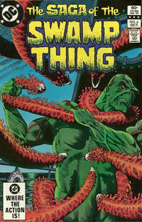 Cover Thumbnail for The Saga of Swamp Thing (DC, 1982 series) #6 [Direct]