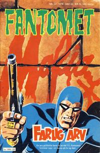 Cover Thumbnail for Fantomet (Semic, 1976 series) #22/1979