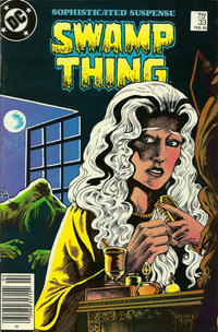 Cover Thumbnail for The Saga of Swamp Thing (DC, 1982 series) #33 [Newsstand]
