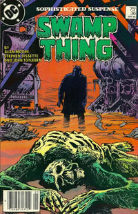 Cover Thumbnail for The Saga of Swamp Thing (DC, 1982 series) #36 [Newsstand]