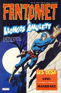 Cover Thumbnail for Fantomet (Semic, 1976 series) #25/1979