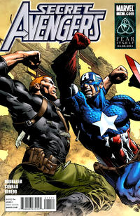 Cover for Secret Avengers (Marvel, 2010 series) #11