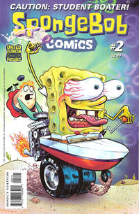 Cover Thumbnail for SpongeBob Comics (United Plankton Pictures, Inc., 2011 series) #2
