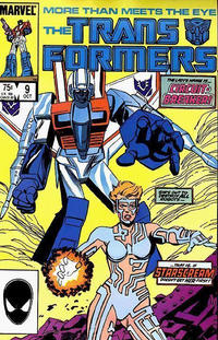 Cover Thumbnail for The Transformers (Marvel, 1984 series) #9 [Direct]