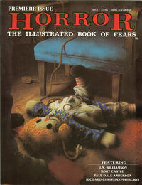 Cover Thumbnail for Horror: The Illustrated Book of Fears (Northstar, 1989 series) #1