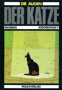 Cover Thumbnail for Die Augen der Katze (Volksverlag, 1984 series)