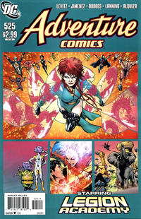 Cover Thumbnail for Adventure Comics (DC, 2009 series) #525