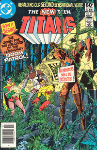 Cover Thumbnail for The New Teen Titans (DC, 1980 series) #13 [Newsstand]