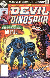 Cover Thumbnail for Devil Dinosaur (Marvel, 1978 series) #6 [non-newsstand bagged]