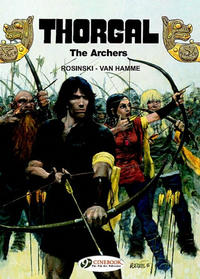 Cover Thumbnail for Thorgal (Cinebook, 2007 series) #4 - The Archers