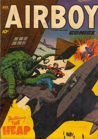 Cover Thumbnail for Airboy Comics (Hillman, 1945 series) #v9#7 [102]