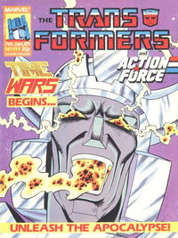 Cover Thumbnail for Transformers (Marvel UK, 1984 series) #199