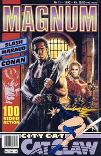Cover for Magnum (Bladkompaniet / Schibsted, 1988 series) #11/1992