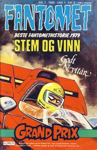 Cover Thumbnail for Fantomet (Semic, 1976 series) #1/1980