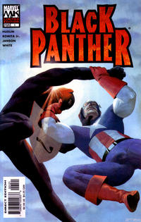 Cover Thumbnail for Black Panther (Marvel, 2005 series) #1 [Ribic Variant]