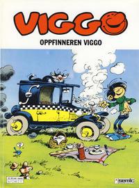 Cover Thumbnail for Viggo (Semic, 1986 series) #17 - Oppfinneren Viggo [1. opplag]
