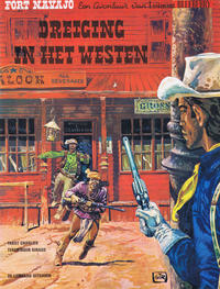 Cover Thumbnail for Blueberry (Le Lombard, 1971 series) #5 - Dreiging in het Westen
