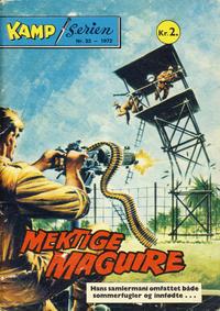 Cover Thumbnail for Kamp-serien (Serieforlaget / Se-Bladene / Stabenfeldt, 1964 series) #33/1972