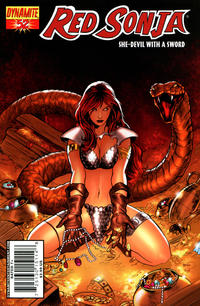 Cover Thumbnail for Red Sonja (Dynamite Entertainment, 2005 series) #52 [Cover A]