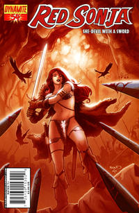 Cover Thumbnail for Red Sonja (Dynamite Entertainment, 2005 series) #54 [Cover A]