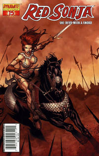 Cover Thumbnail for Red Sonja (Dynamite Entertainment, 2005 series) #15 [Steve McNiven Cover]