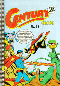 Cover Thumbnail for Century Comic (K. G. Murray, 1961 series) #72