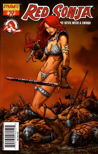 Cover Thumbnail for Red Sonja (Dynamite Entertainment, 2005 series) #19 [Sean Chen Cover]