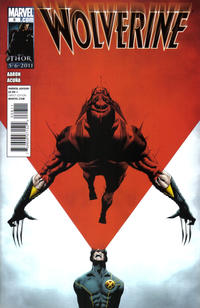 Cover Thumbnail for Wolverine (Marvel, 2010 series) #8
