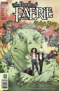 Cover Thumbnail for The Books of Faerie: Molly's Story (DC, 1999 series) #2