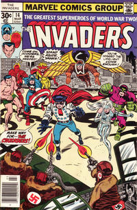 Cover Thumbnail for The Invaders (Marvel, 1975 series) #14 [Regular Edition]