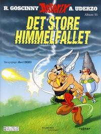 Cover Thumbnail for Asterix (Hjemmet / Egmont, 1998 series) #33 - Det store himmelfallet [1. opplag]