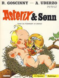 Cover Thumbnail for Asterix (Hjemmet / Egmont, 1969 series) #27 - Asterix & Sønn [1. opplag]
