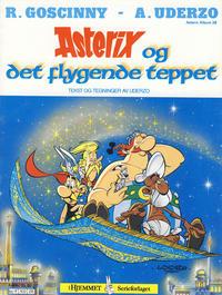Cover Thumbnail for Asterix (Hjemmet / Egmont, 1969 series) #28 - Asterix og det flygende teppet [1. opplag]