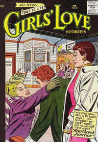 Cover for Girls' Love Stories (DC, 1949 series) #45