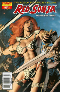 Cover Thumbnail for Red Sonja (Dynamite Entertainment, 2005 series) #18 [Gene Ha Cover]