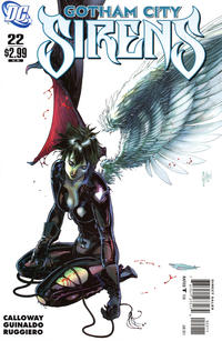 Cover Thumbnail for Gotham City Sirens (DC, 2009 series) #22