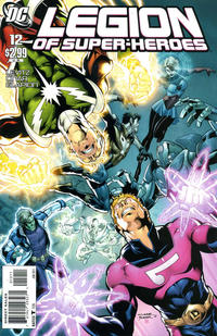 Cover Thumbnail for Legion of Super-Heroes (DC, 2010 series) #12 [Direct Sales]