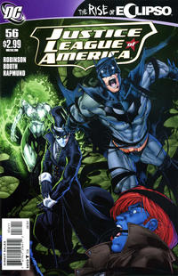 Cover Thumbnail for Justice League of America (DC, 2006 series) #56