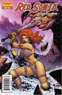 Cover Thumbnail for Red Sonja (Dynamite Entertainment, 2005 series) #12 [Jim Lee Cover]