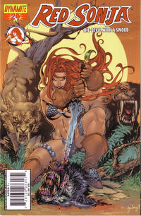 Cover Thumbnail for Red Sonja (Dynamite Entertainment, 2005 series) #24 [Stephen Segovia Cover]
